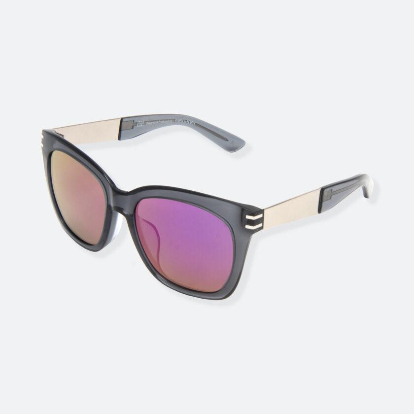 OhMart People By People - Wellington Acetate Sunglasses ( S031 - Purple / Transparent Black ) 3
