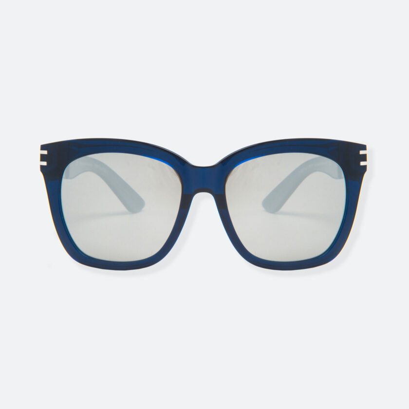 OhMart People By People - Wellington Acetate Sunglasses ( S031 - Light Gray / Transparent Blue ) 1