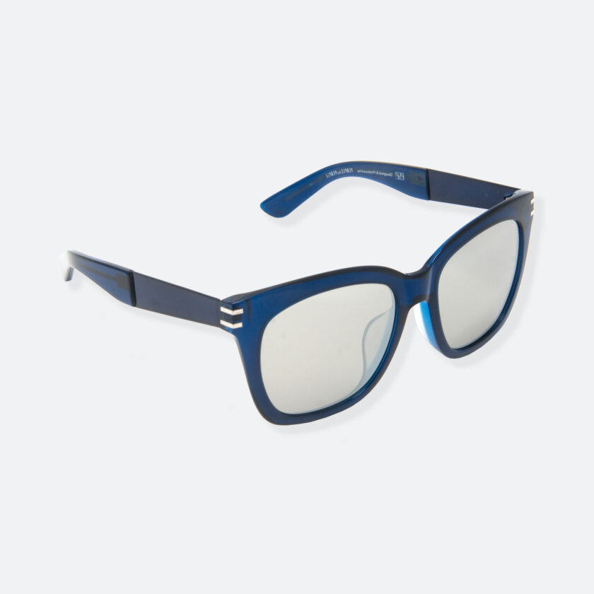 OhMart People By People - Wellington Acetate Sunglasses ( S031 - Light Gray / Transparent Blue ) 2
