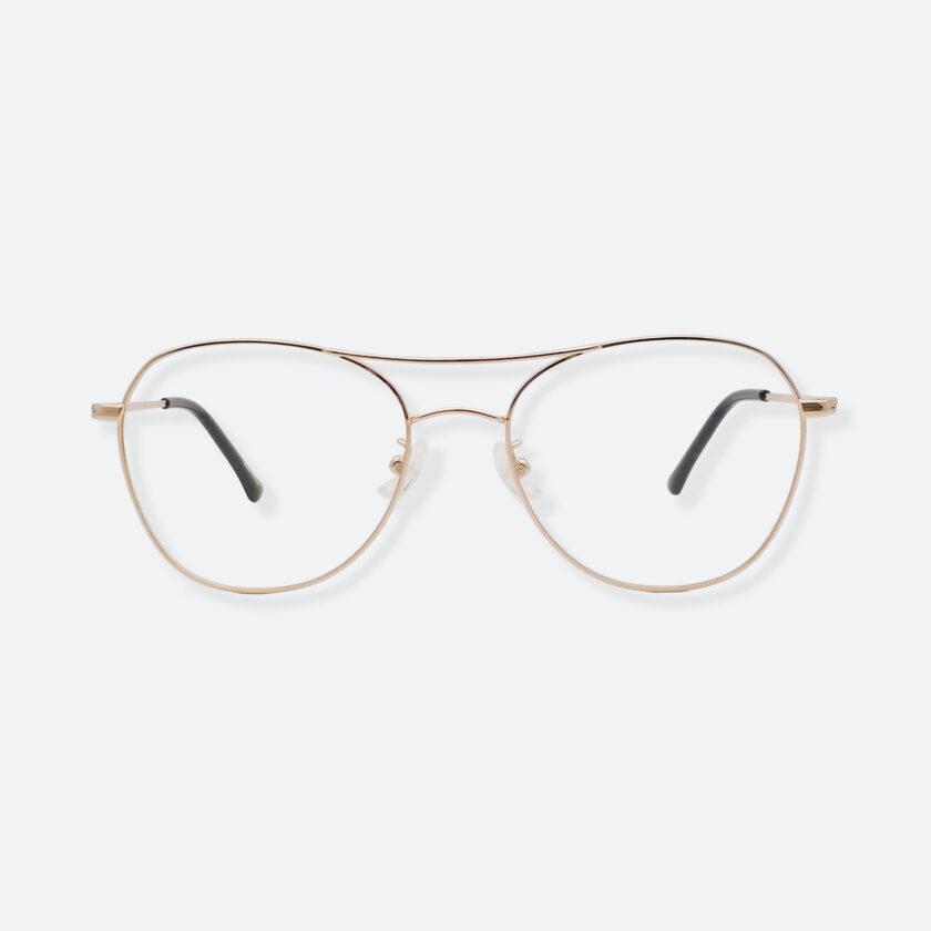 OhMart Textura – Aviator Metal Optical Glasses ( TMM029 - Gold ) 1