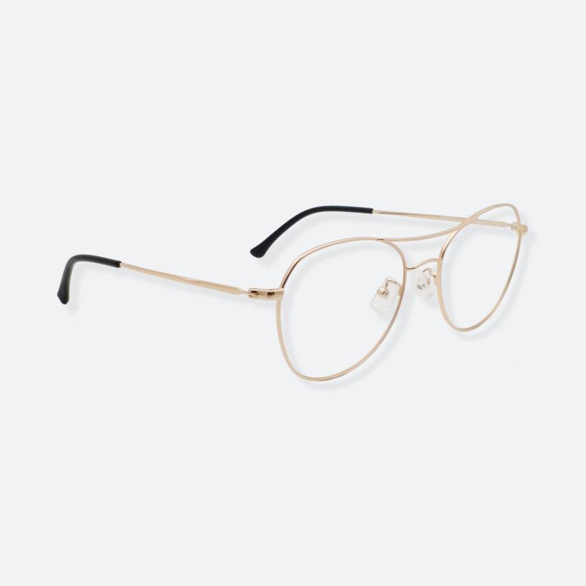 OhMart Textura – Aviator Metal Optical Glasses ( TMM029 - Gold ) 3