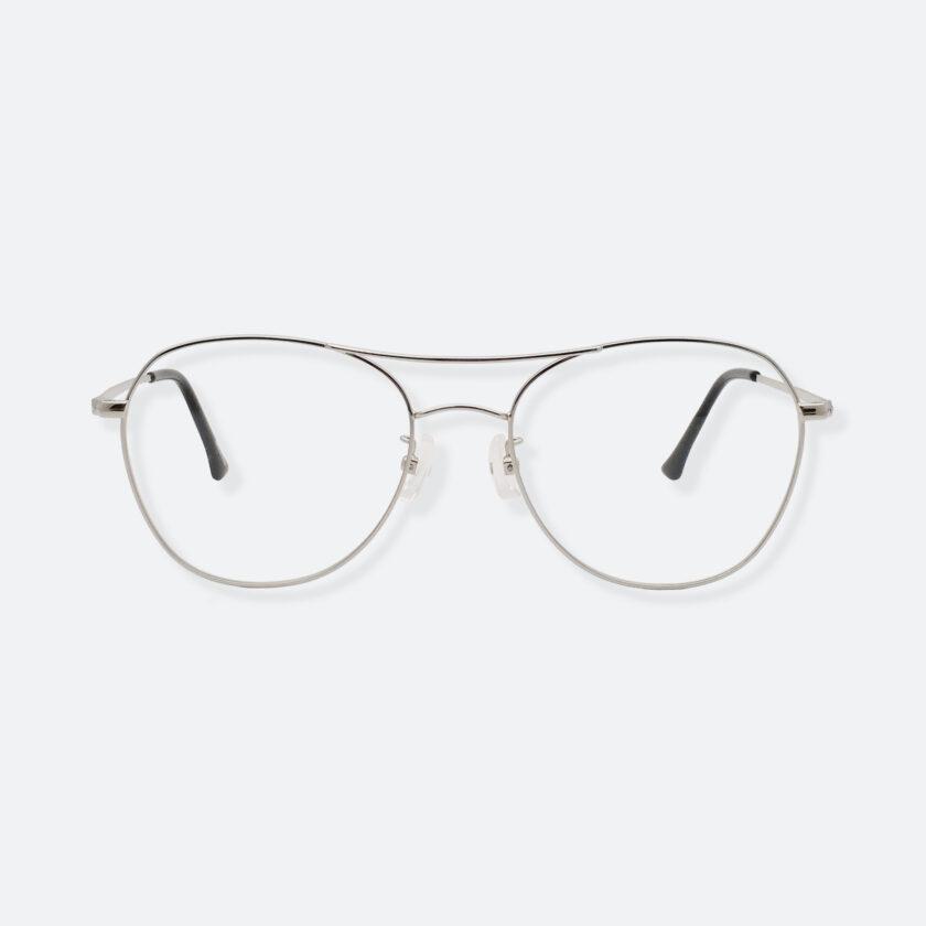 OhMart Textura – Aviator Metal Optical Glasses ( TMM029 - Silver ) 1