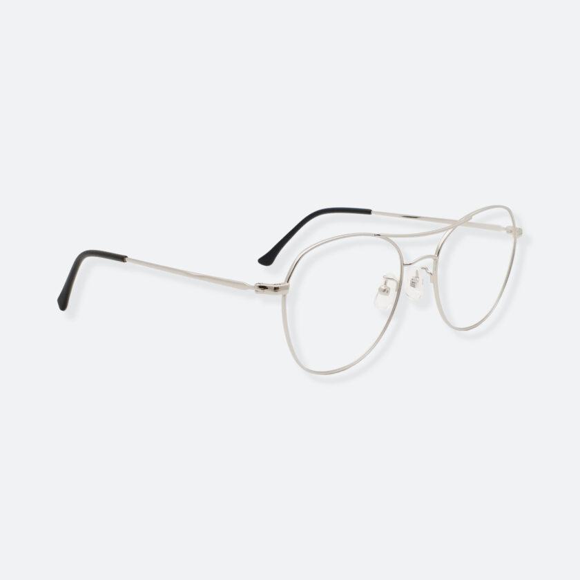 OhMart Textura – Aviator Metal Optical Glasses ( TMM029 - Silver ) 3