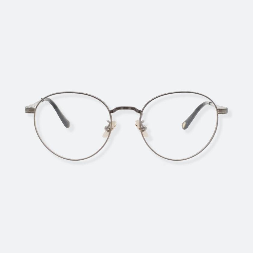 OhMart Textura - Hexagonal Oval Metal Optical Glasses ( TMU002 - Shabby Grey ) 1