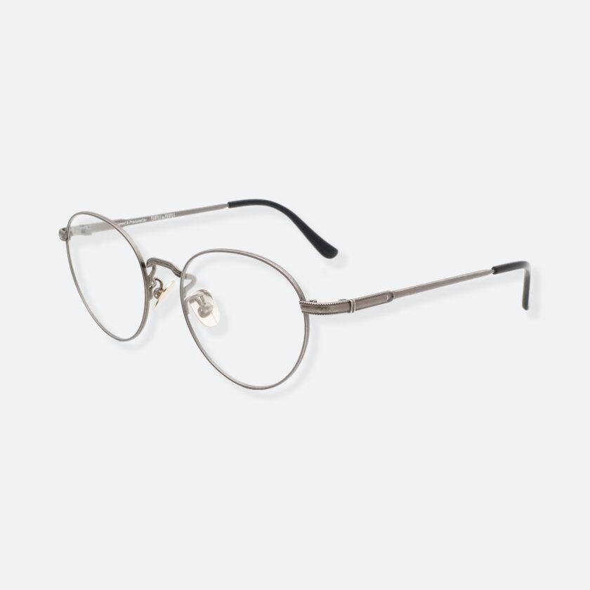 OhMart Textura - Hexagonal Oval Metal Optical Glasses ( TMU002 - Shabby Grey ) 2