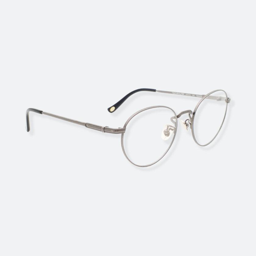 OhMart Textura - Hexagonal Oval Metal Optical Glasses ( TMU002 - Shabby Grey ) 3
