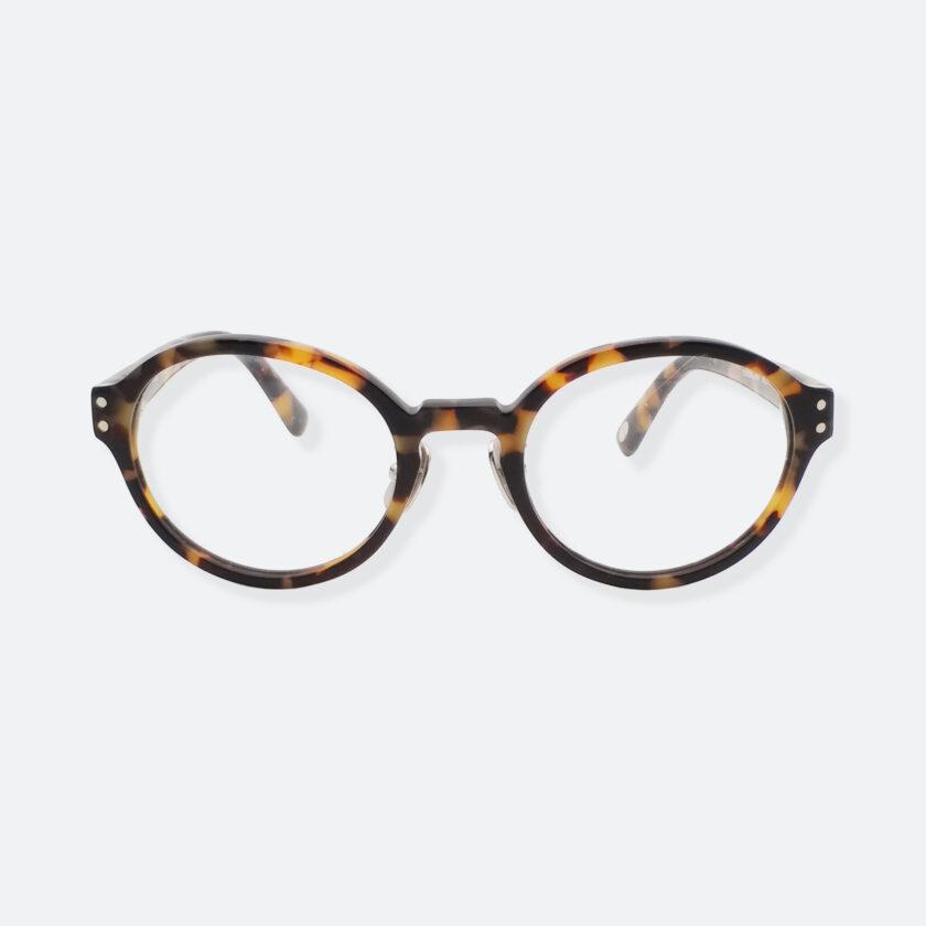 OhMart Textura - Full Framed Bold Optical Glasses ( TPU008 - Tortoiseshell - Light Brown ) 1
