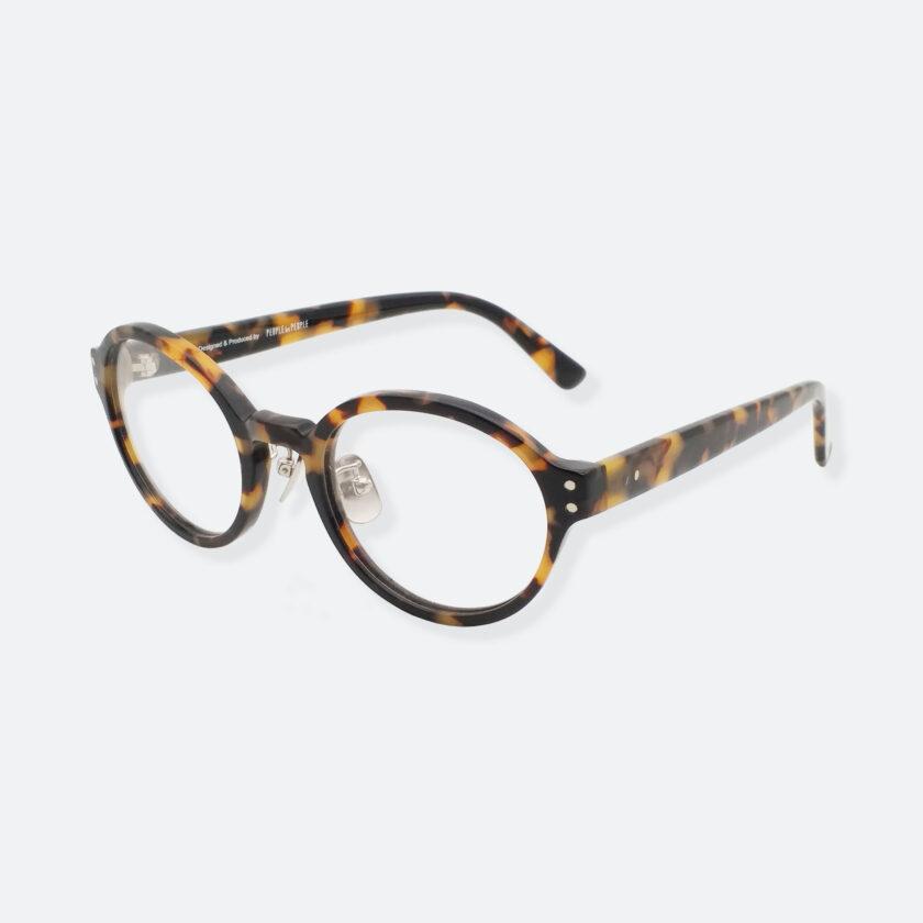 OhMart Textura - Full Framed Bold Optical Glasses ( TPU008 - Tortoiseshell - Light Brown ) 2