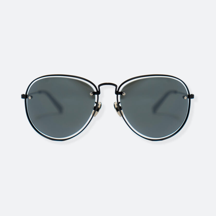 OhMart People By People - Aviator Sunglasses ( S035 - Black ) 1