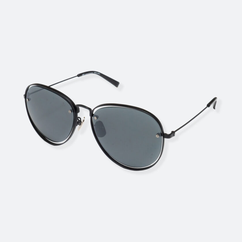 OhMart People By People - Aviator Sunglasses ( S035 - Black ) 3
