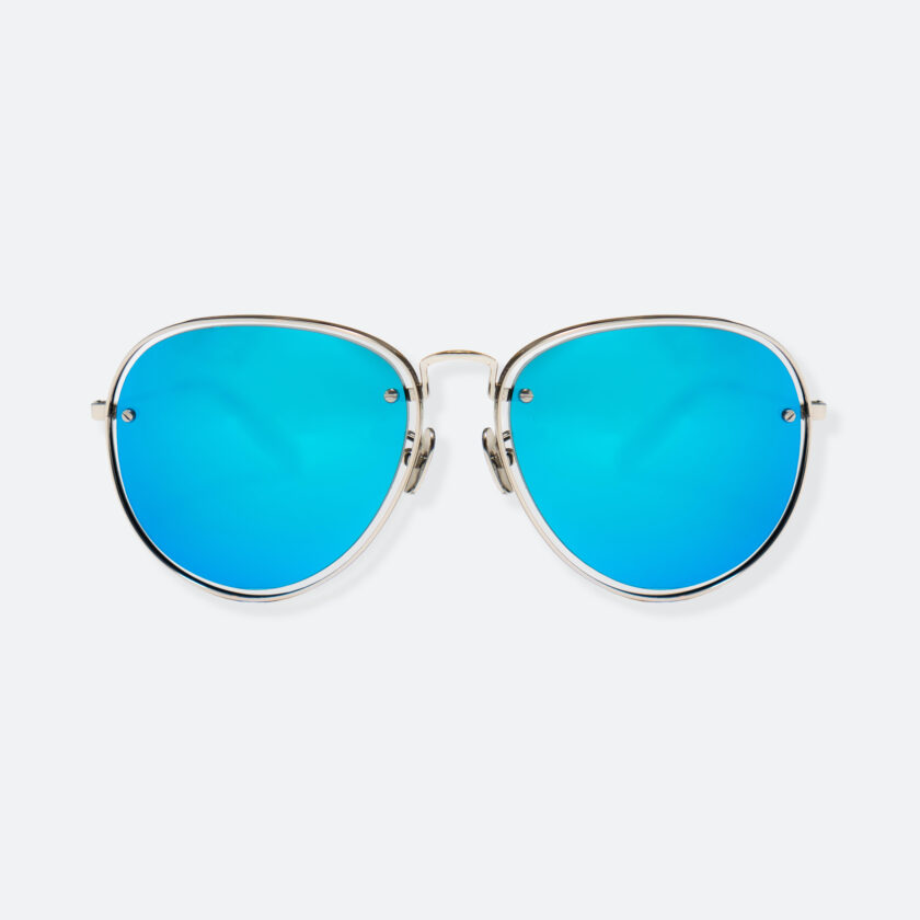 OhMart People By People - Aviator Sunglasses ( S035 - Blue ) 1