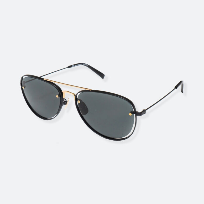 OhMart People By People - Aviator Sunglasses ( S037 - Black / Gold ) 3