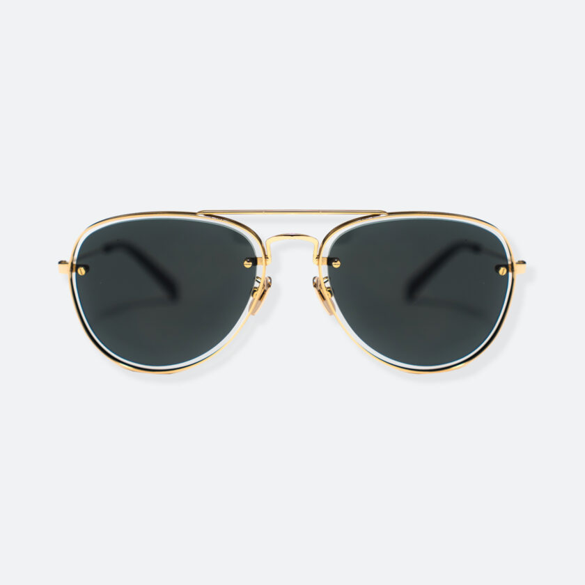 OhMart People By People - Aviator Sunglasses ( S037 - Gold ) 1
