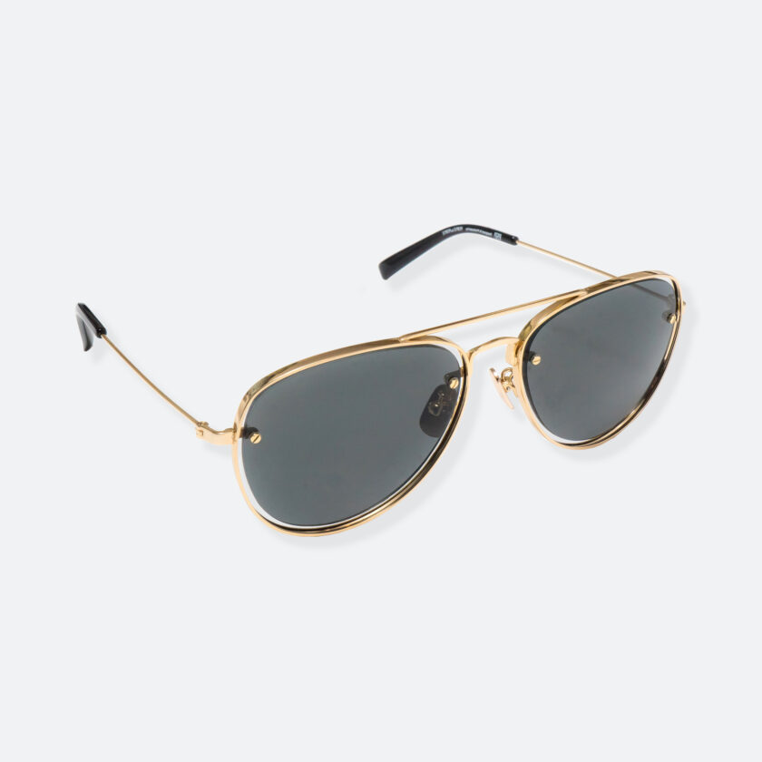 OhMart People By People - Aviator Sunglasses ( S037 - Gold ) 2