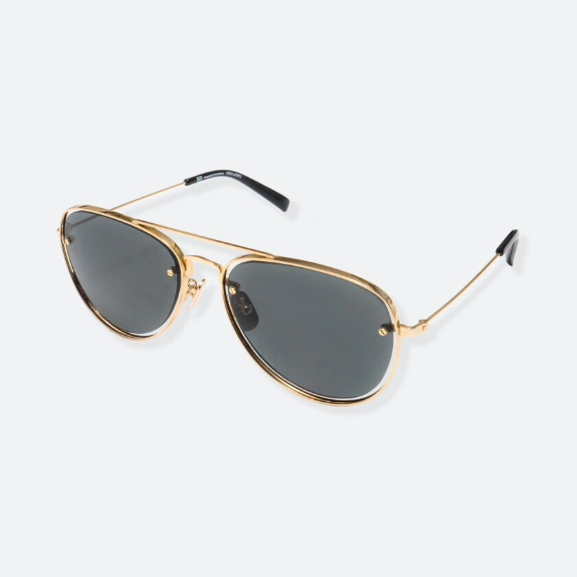 OhMart People By People - Aviator Sunglasses ( S037 - Gold ) 3