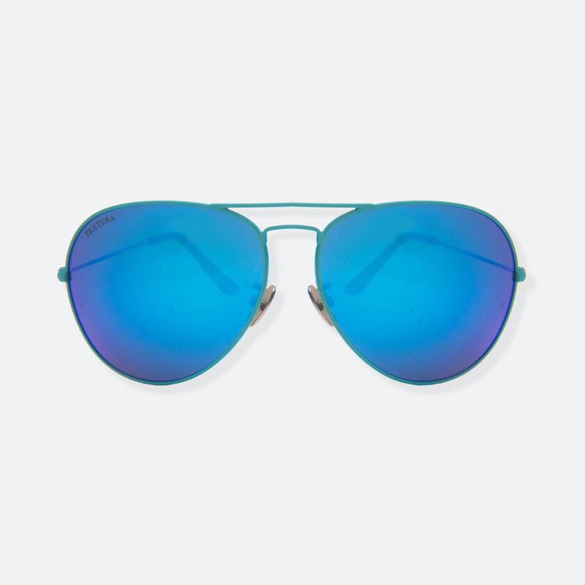 OhMart Textura - Aviator Sunglasses ( TKSG001 - Blue - Small Size ) 1