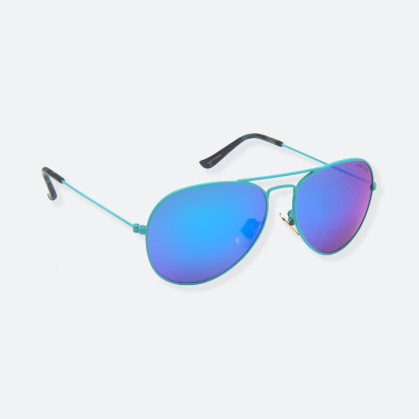 OhMart Textura - Aviator Sunglasses ( TKSG001 - Blue - Small Size ) 2