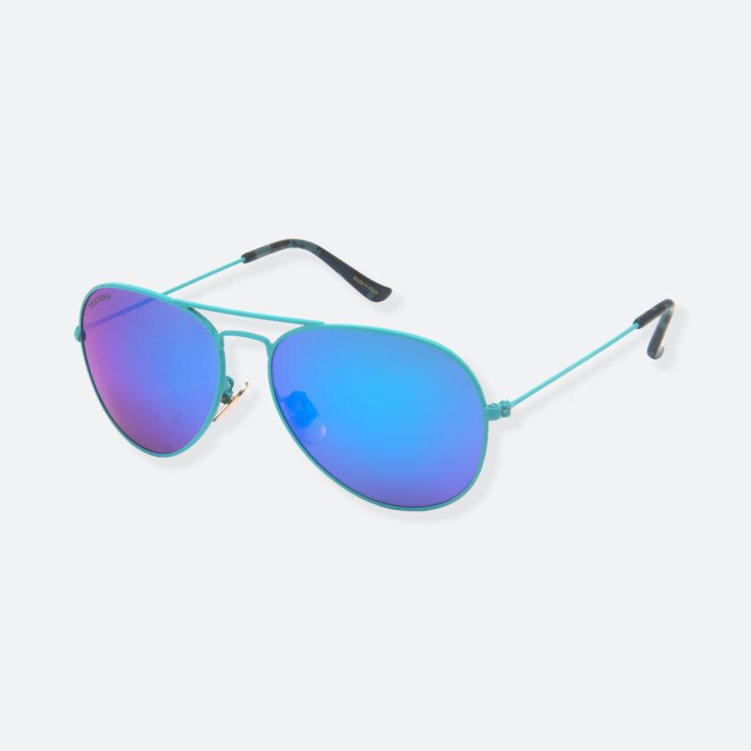 OhMart Textura - Aviator Sunglasses ( TKSG001 - Blue - Small Size ) 3