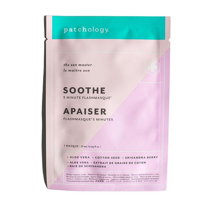 OhMart Patchology FlashMasque Soothe 5 Minute Sheet Mask 4