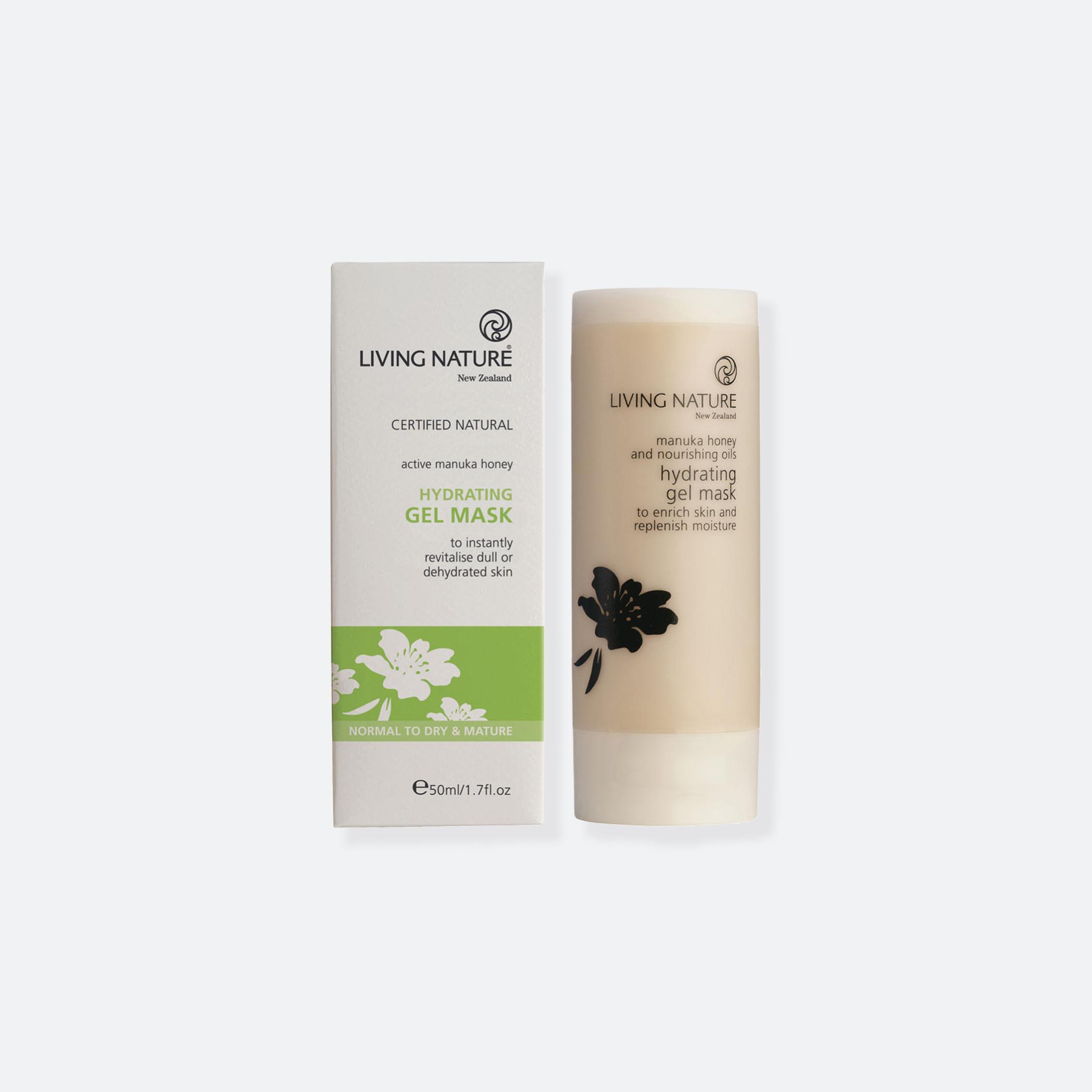 OhMart Living Nature Hydrating Gel Mask 1