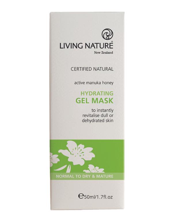 OhMart Living Nature Hydrating Gel Mask 3