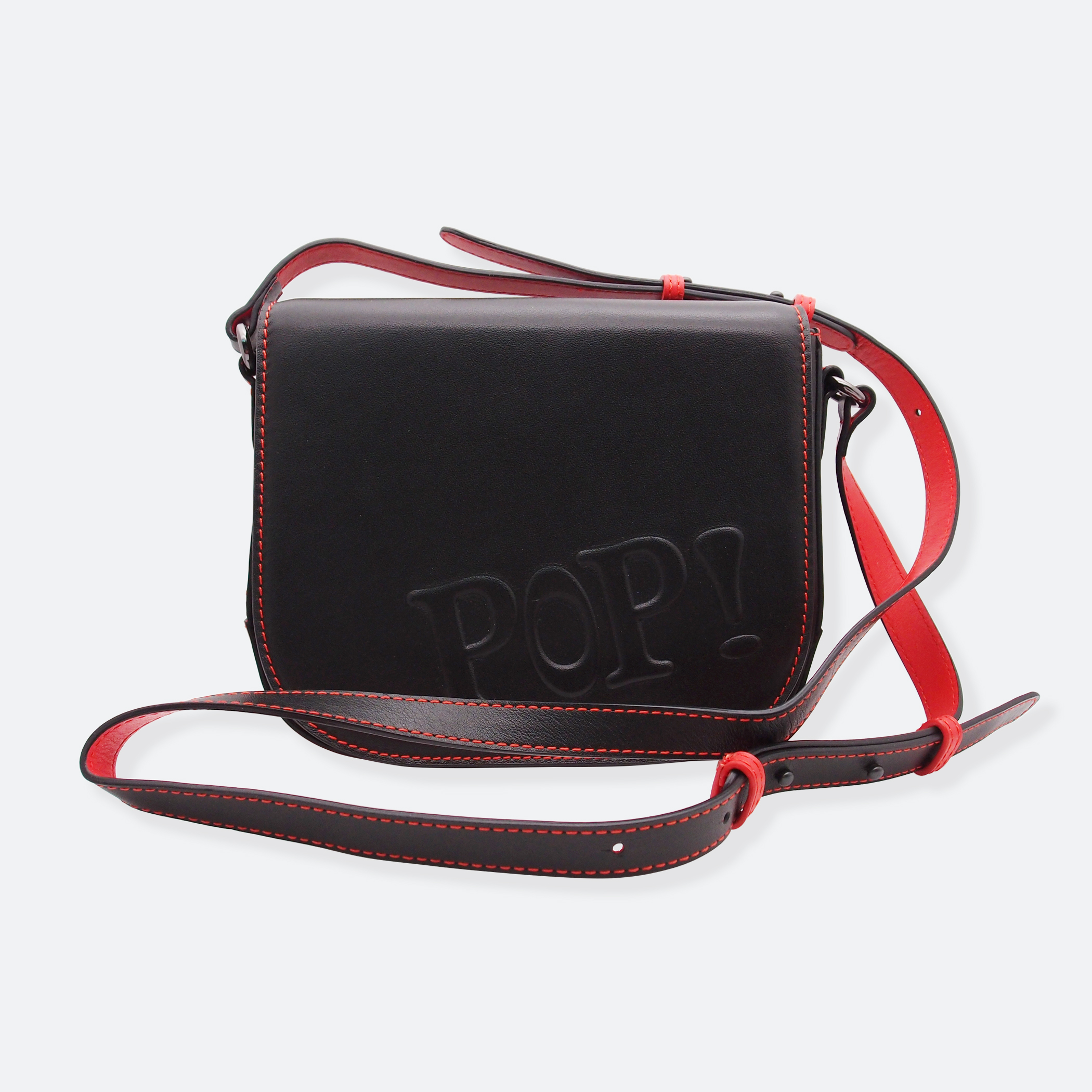 OhMart POP! Bag(Black-Red) 3