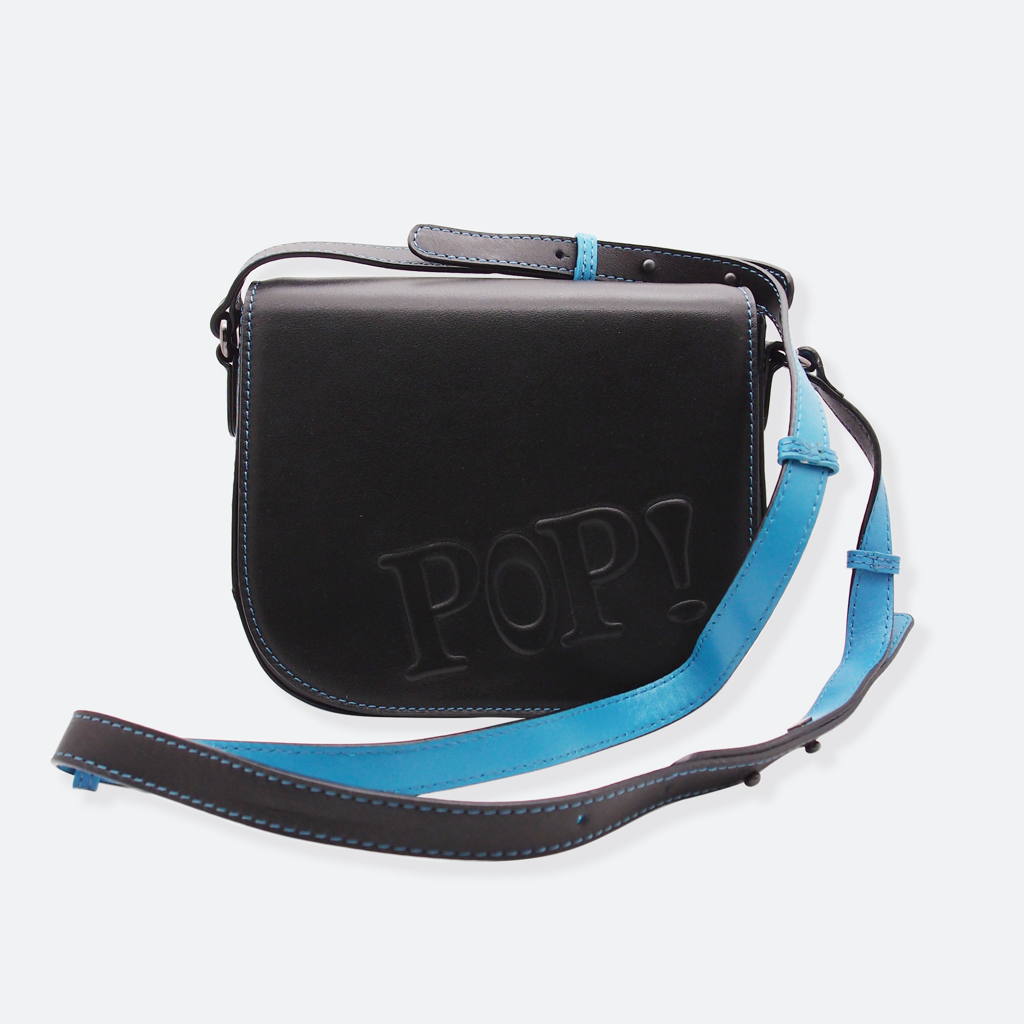 OhMart POP! Bag(Black-Blue) 3