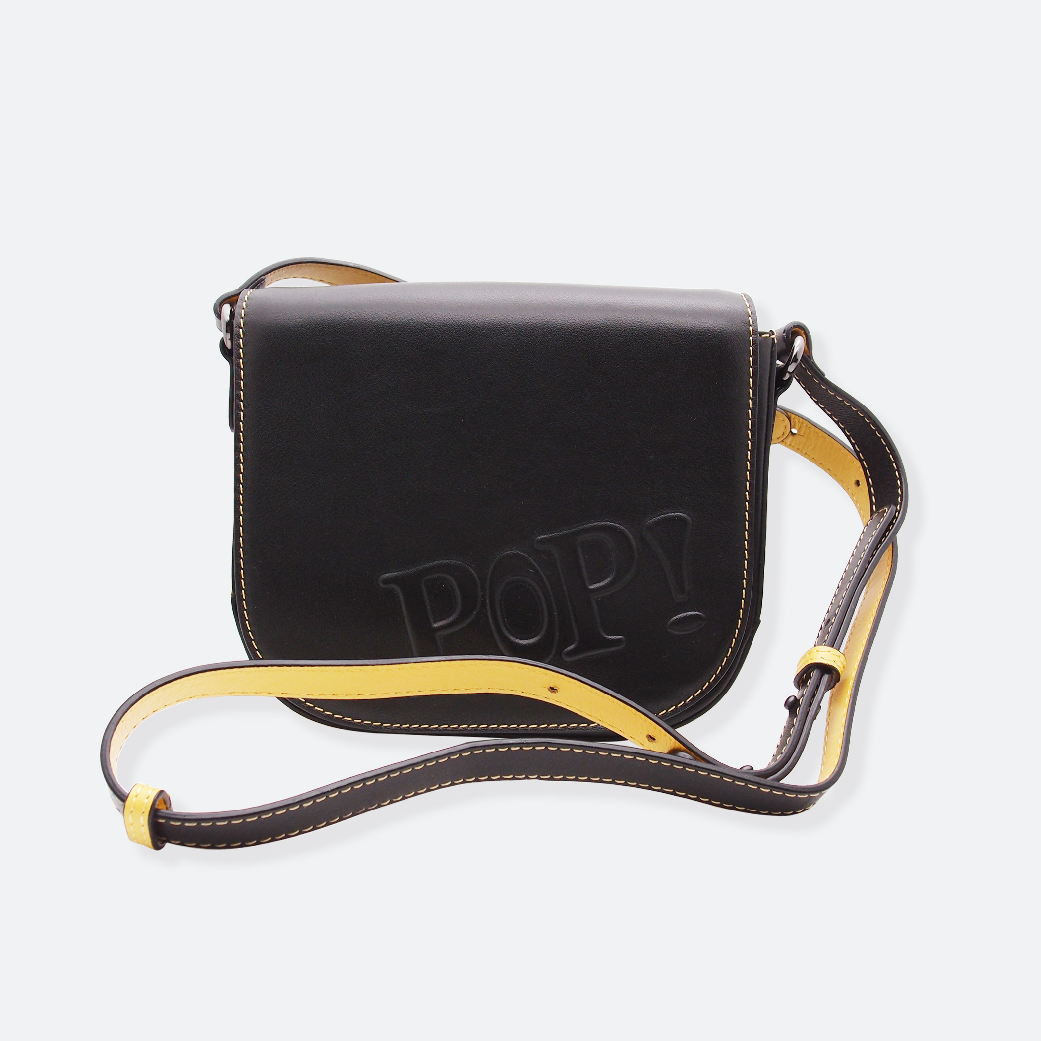 OhMart POP! Bag(Black-Yellow) 3