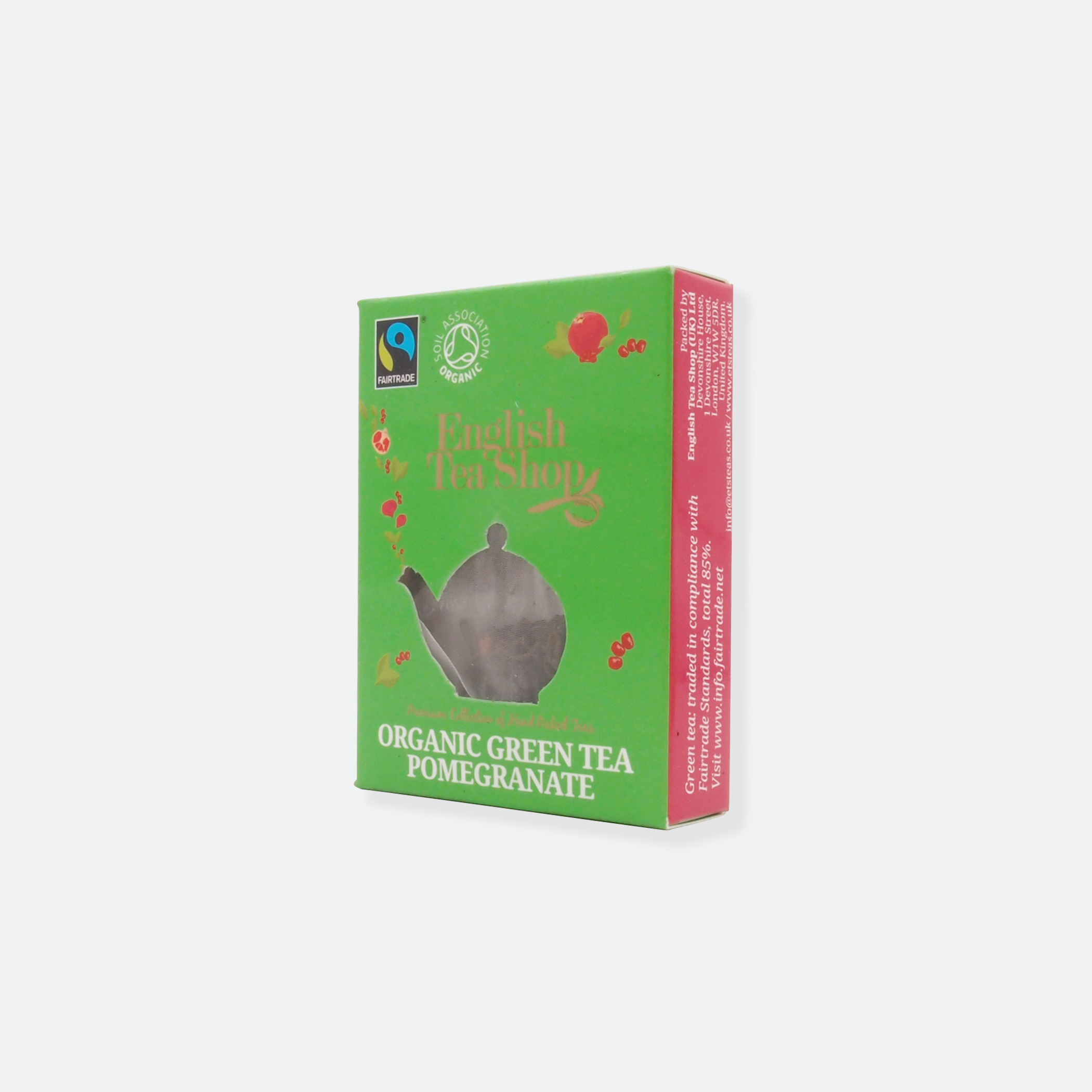 OhMart English Tea Shop - Organic Green Tea Pomegranate 3