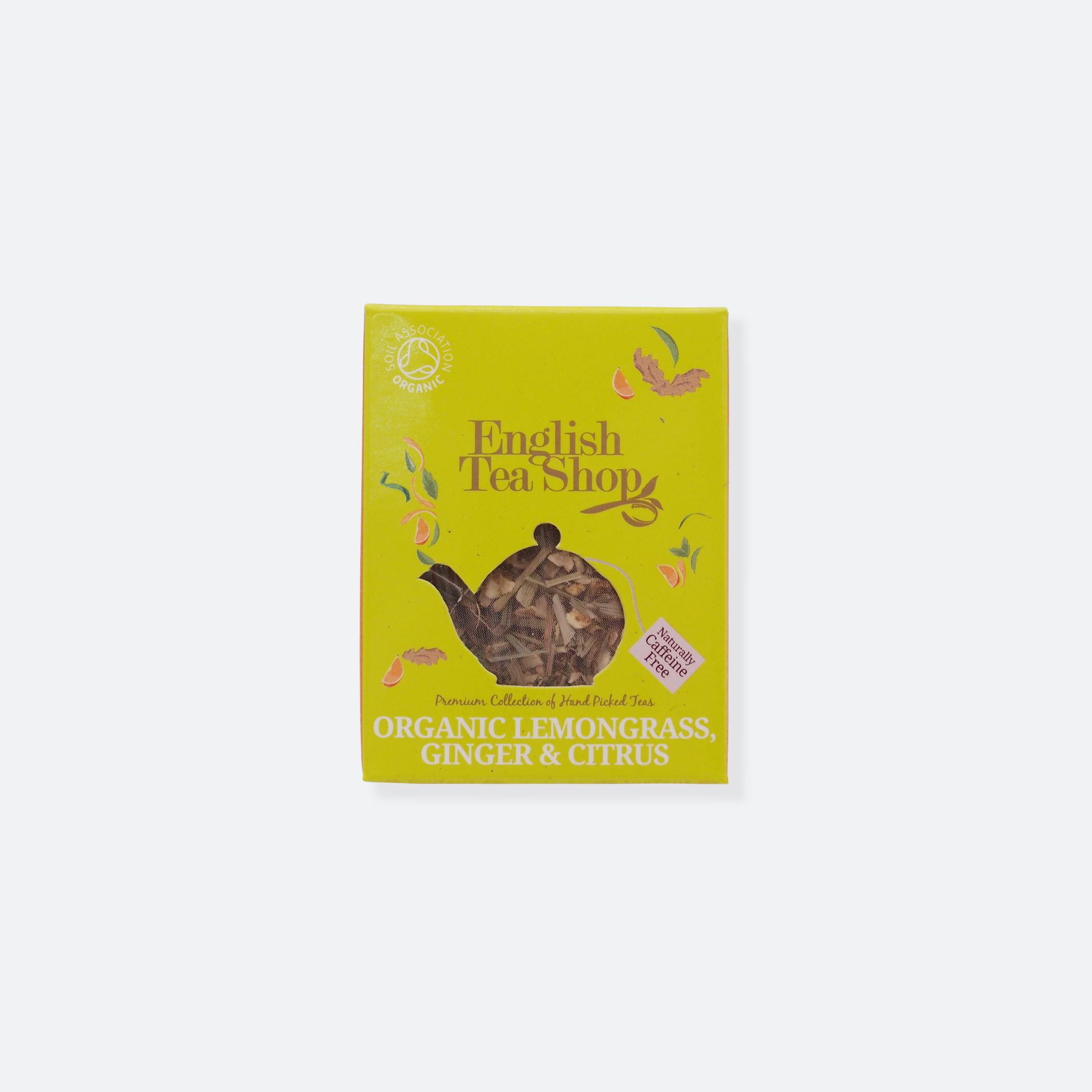 OhMart English Tea Shop - Organic Lemongrass Ginger & Citrus 1