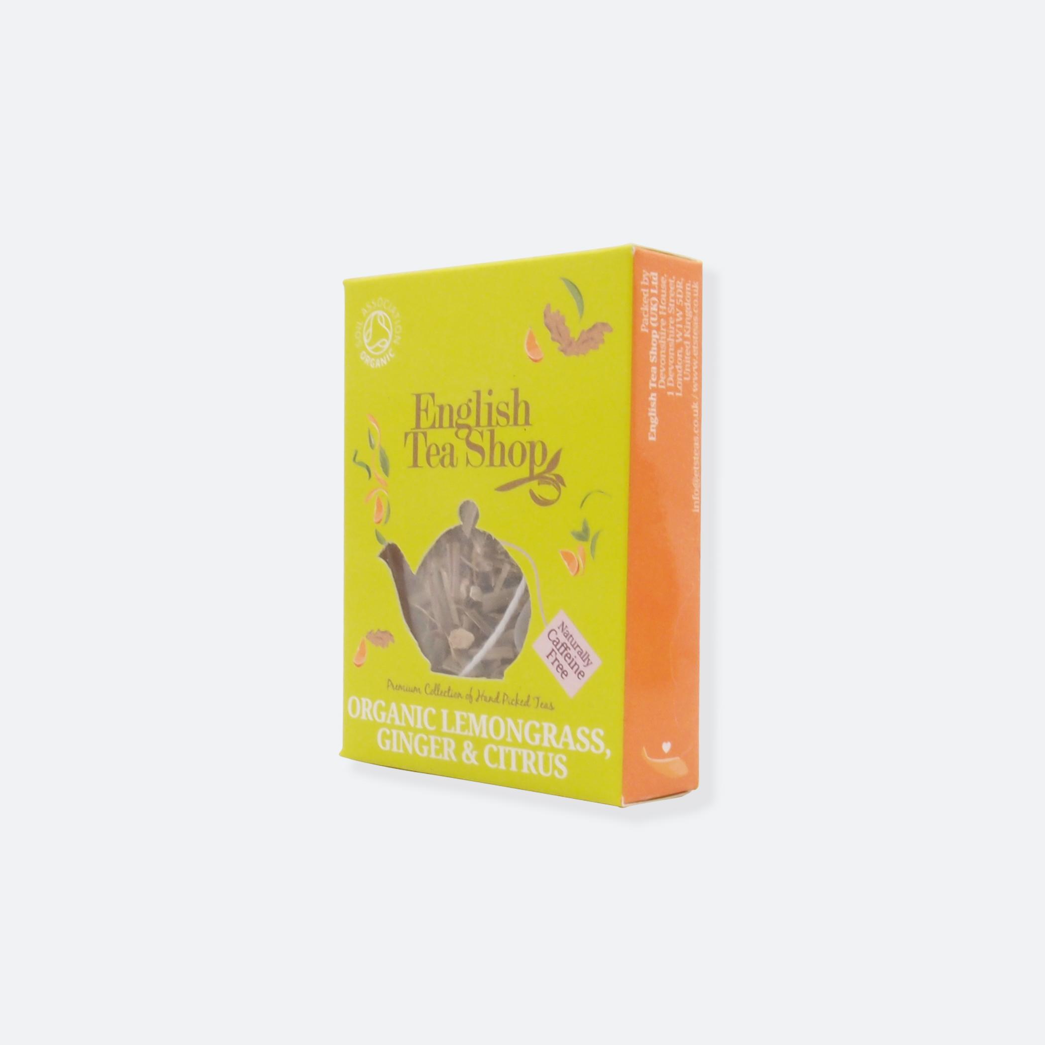 OhMart English Tea Shop - Organic Lemongrass Ginger & Citrus 2