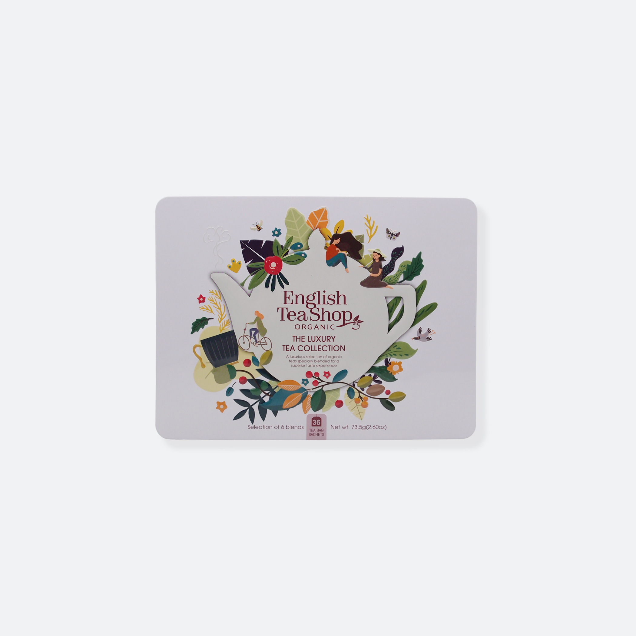OhMart English Tea Shop Organic - The Luxury Tea Collection 1