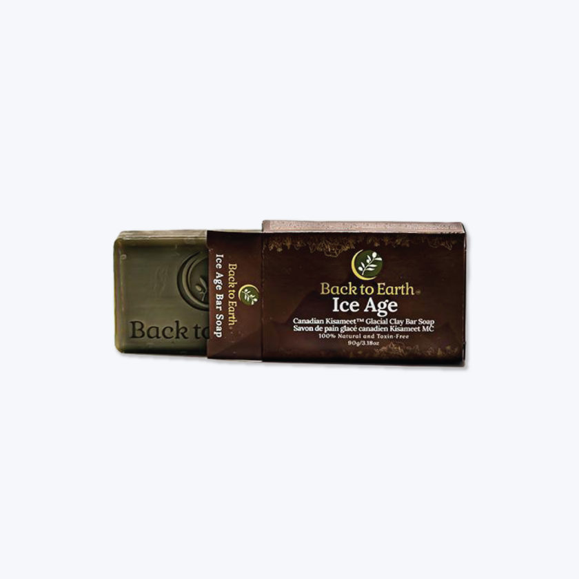 OhMart Back to Earth - Ice Age Glacial Clay Bar Soap 1