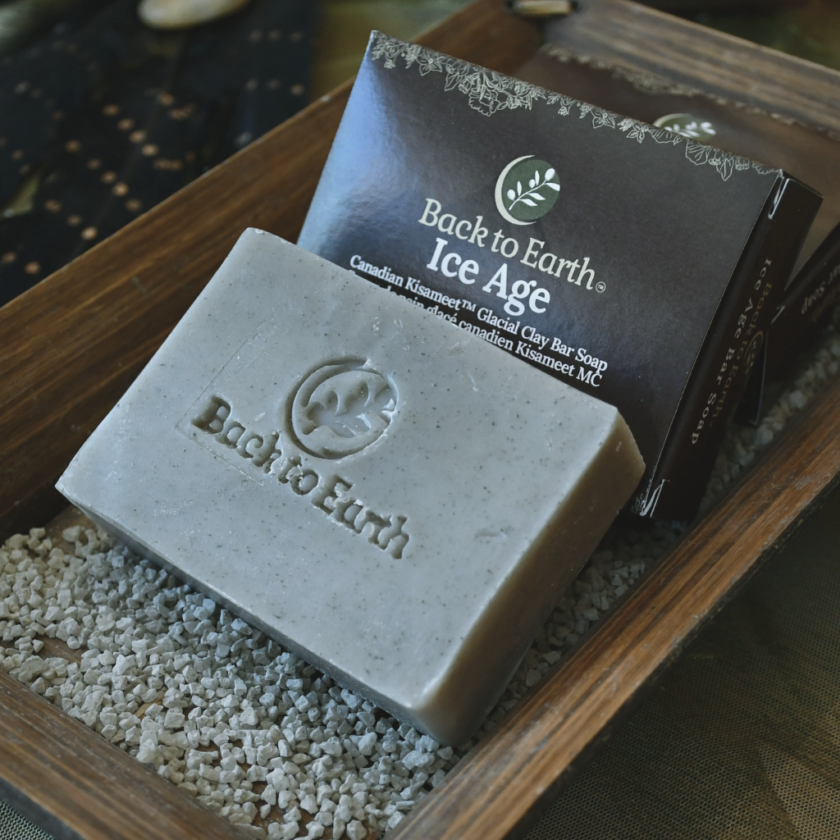 OhMart Back to Earth - Ice Age Glacial Clay Bar Soap 3