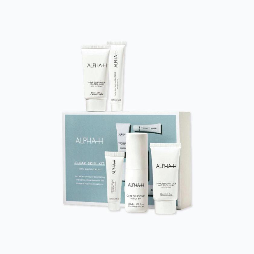 OhMart Alpha-H Clear Skin Kit 5 Piece 1