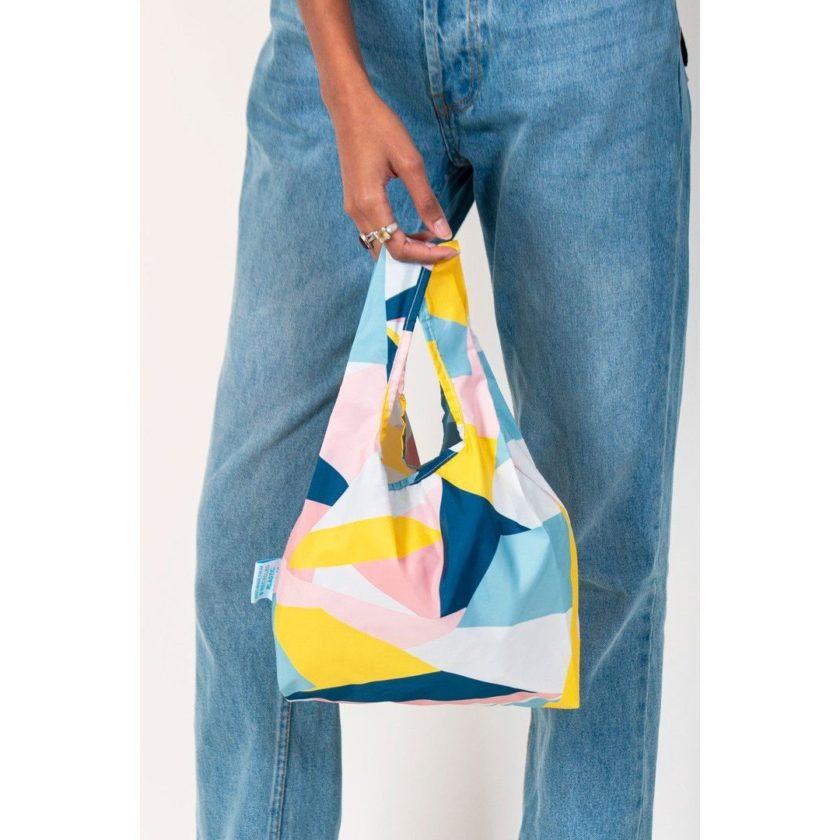 OhMart Kind Bag 100% recycled reusable bag (S) - Mosaic 3