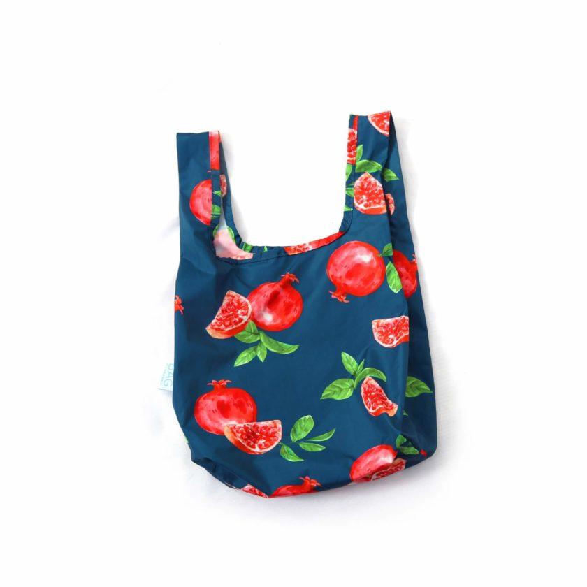 OhMart Kind Bag 100% recycled reusable bag (S) - Pomegranate 1