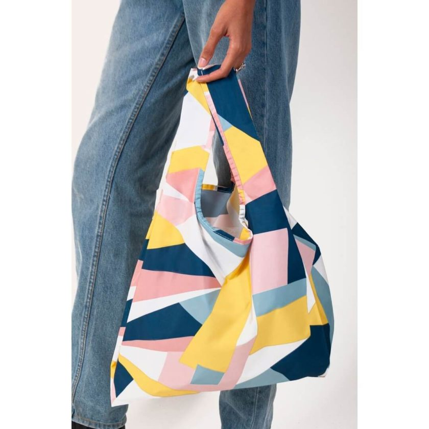 OhMart Kind Bag 100% recycled reusable bag (M) – Mosaic 3