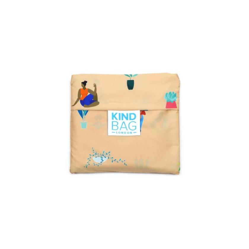 OhMart Kind Bag 100% recycled reusable bag (M) - Yoga Girls 2