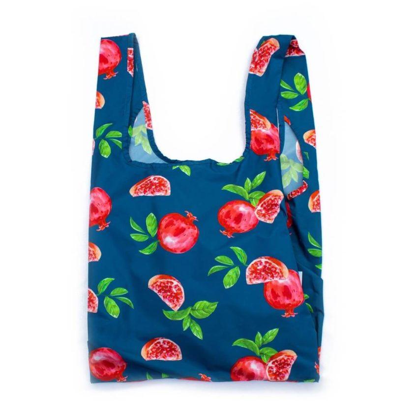 OhMart Kind Bag 100% recycled reusable bag (M) - Pomegranate 1