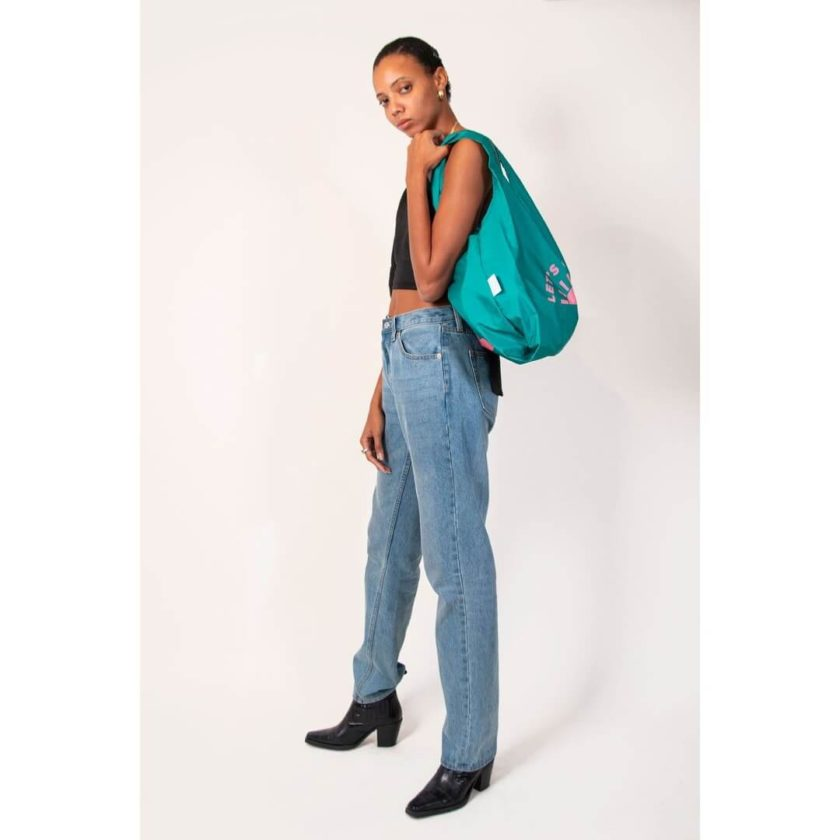 OhMart Kind Bag 100% recycled reusable bag (M) - Go Green 3