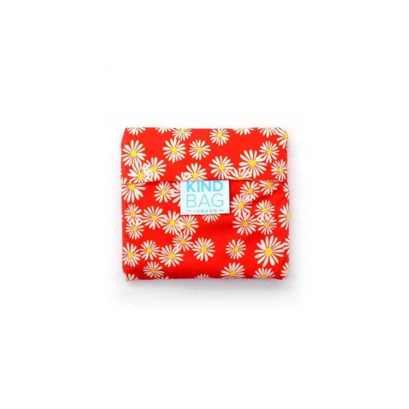 OhMart Kind Bag 100% recycled reusable bag (M) - Daisy 2