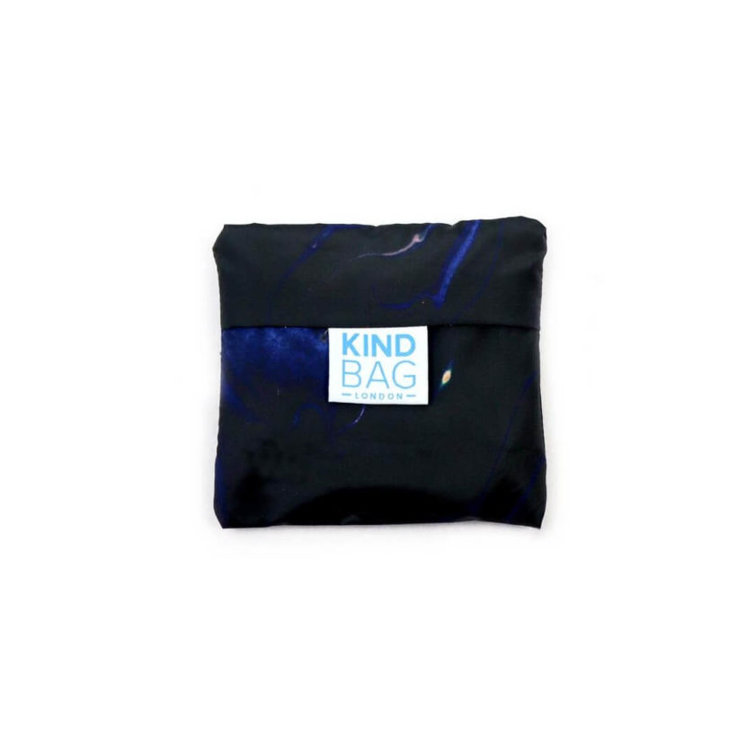 OhMart Kind Bag 100% recycled reusable bag (M) - Galaxy Marble 3